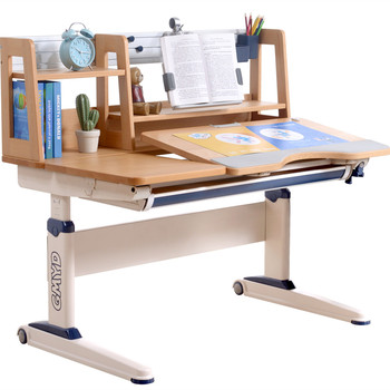Best Quality Ergonomic Desk for Kids Height Adjustable Wooden Learning Table