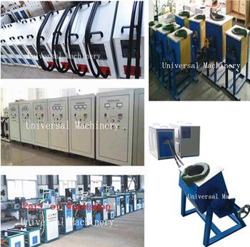 Engery Saving IGBT 100% duty Metal Melting Machine