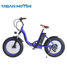 250W/500W/1000W Motor 20 Inch Folding Fat Tire E Bike Electric Bicycle With Front Suspension Fork