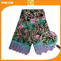 wax embroidery cotton fabric