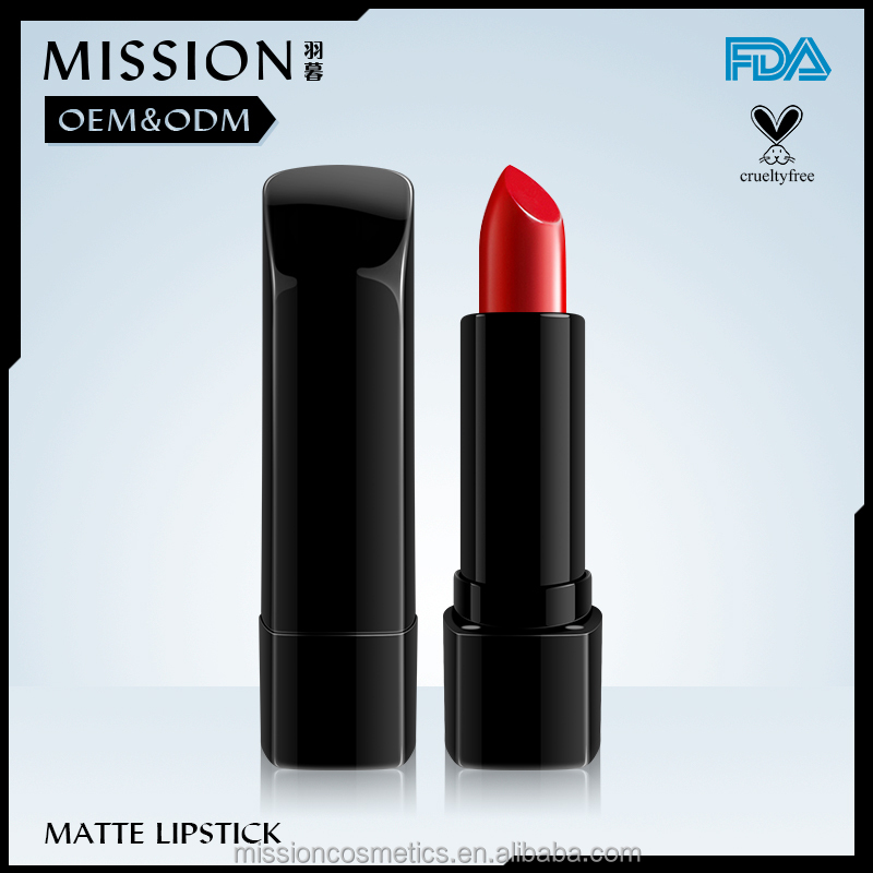 Matte Lipstick Brand Waterproof Cosmetics with Private Label