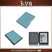 Folio Leather Ebook Case Cover Hard Shell, 6 inch AURA H2O case For Kobo