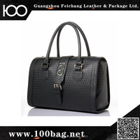 New arrival mens leather travel bag leather business tote bag