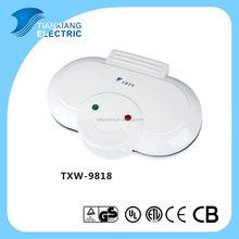 GS approved 2 pcs waffle maker machine TXW-9818