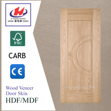 JHK-014 Decorative Interior Ash Wood Door Skin Panels