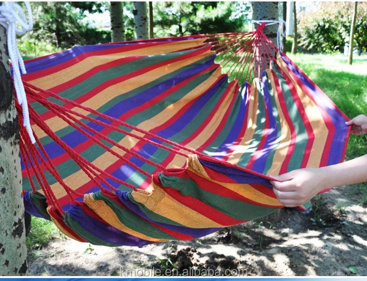 Portable outdoor swing fabric camping hanging rattan for Kids outdoor fabric