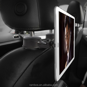 Clip Car Cell Phone Back Seat Magnetic Mount Tablet Universal Headrest Holder for iPad Car Hooks