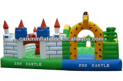 New design basketball hoop / inflatable sports moonwalk bounce house