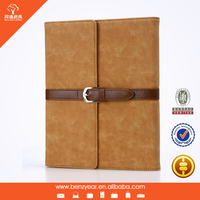 2014 hot sell leather flip cover case for tablet PC holder cover