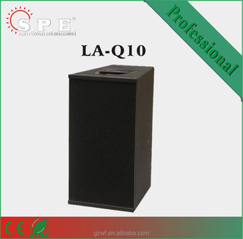 spe audio LA-Q10 800W dual 10 inch compact line array
