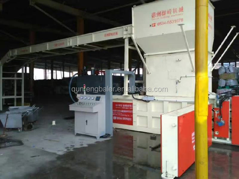 Chinese production hydraulic hydraulic baling press baler machine