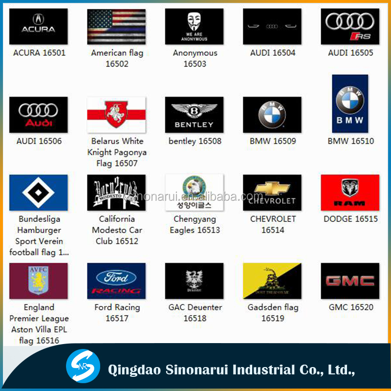 All kinds advertisement promotional flags of motor corporation custom business banner