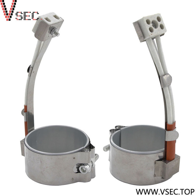 Customized electric high temperature mica resistant band heater with plug
