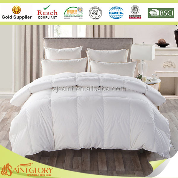 Saint Glory Professional Factory of Down Filled Bedding Products Wholesale Goose Down Quilt and Duck Down Quilt