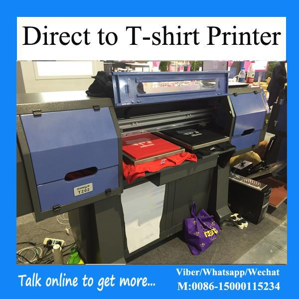 heavy duty direct to garment printing machine with Epson DX5 head