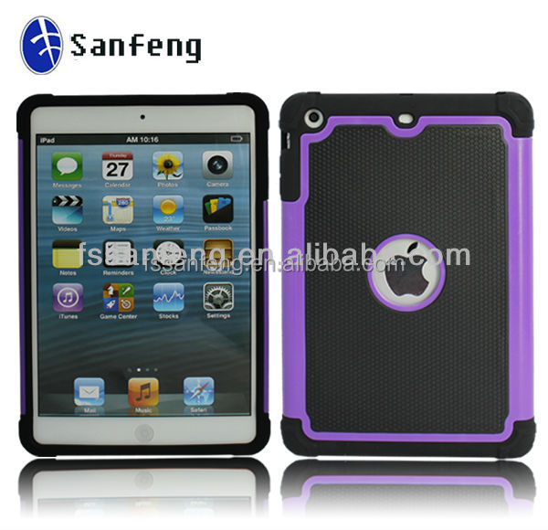 Best Quality High Impact Football Pattern Combo Shell Case For Ipad mini