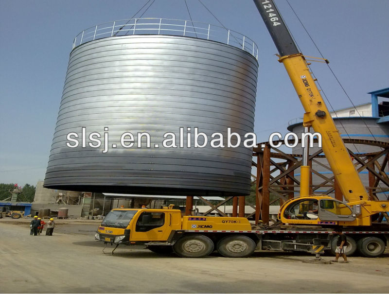 High quality corn maize assembly storage steel silo wheat storage used silo
