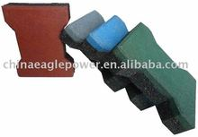 Rubber Tiles Rubber Pavers Dog Bone Pavers
