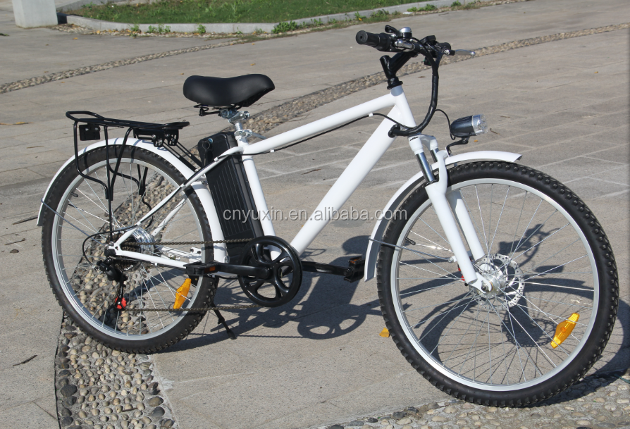 26 inch Lithium battery mountain electric bike / ebike with 350w brushless motor