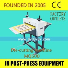 Multi-purpose Electric paper creasing machine and Folding machine and die cutting machine