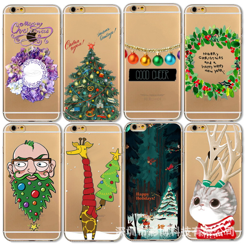 for christmas gift 2016 unique cell phone accessories, customize phone cover, for iphone 6 plastic case