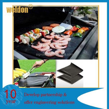 BBQ 2 Backyard Grill Mats - As Seen on TV Grilling Mats for BBQ - FDA Approv
