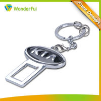 2014 Promotional Car Logo Gifts Custom Metal Fashion Keychain
