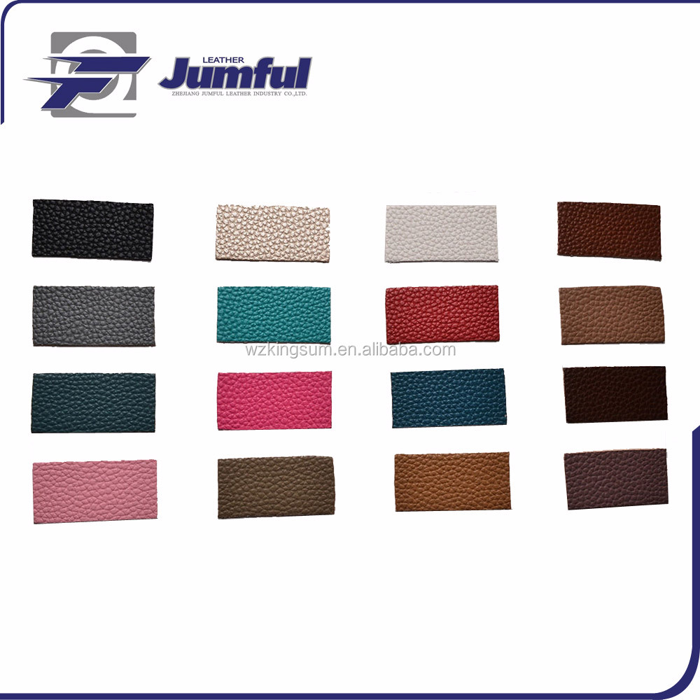 Various color PU bag leather fabric Wholesale