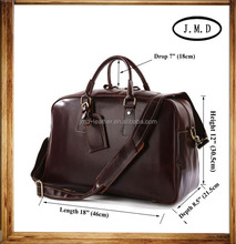 Manufacturers Leather Traveling Bag From China # 7156B