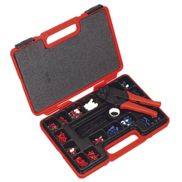 Changeable Die Sets Terminals Crimping Tool Kit used for Insulated and Non-Insulated Cable