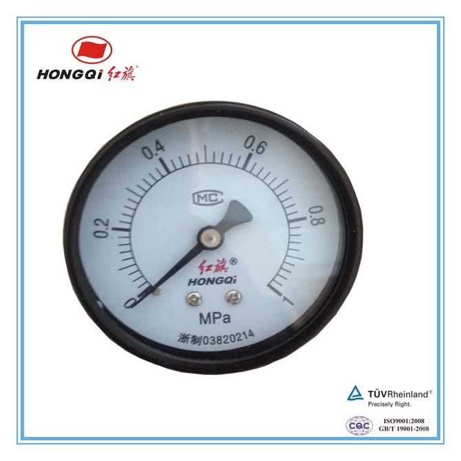 mercury unit manometer with back cover