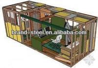 Australian standard prefabricated cheap modular container house