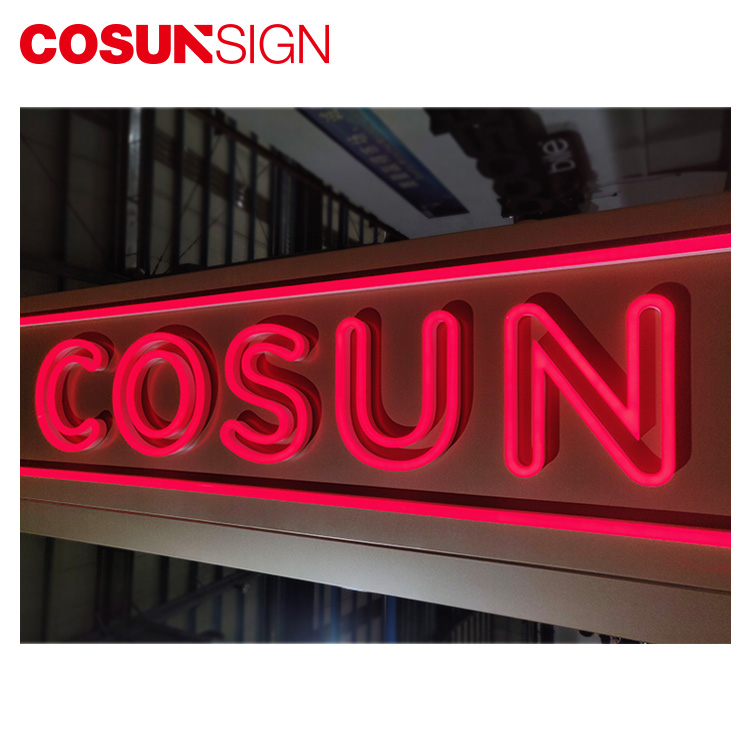 OEM LED Advertising Sign Wall mounted  Led Flex Neon Light for Outdoor/Indoor Signs
