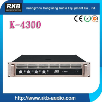 K-4300 pro Multi-channel Power Amplifier