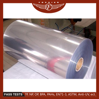 transparent plastic hard pvc sheet roll