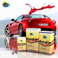 KINGFIX hot selling solvent based pearl colors car paint
