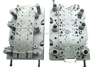 Punching metal progressive die mould