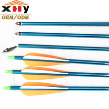 Wholesale Archery Arrow Shaft Aluminum Arrow Shaft For Compound Bow Hunting Game Indoor Pratice
