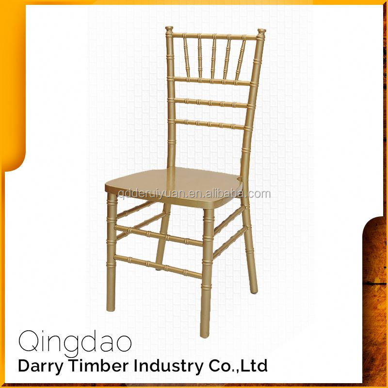Import Wholesale Wedding Wood Chiavari Stackable Chair