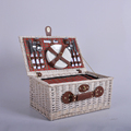 New vintage wicker basket / wicker basket / picnic fruit storage basket