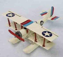 Home Decoration Cheap Antique Imitation Metal Airplane Model American-style Seaplane