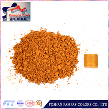 High quality mica yellow pigment with CE