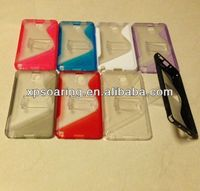 S line tpu+PC case back cover for Samsung Galaxy Note 3 N9000