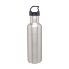 Wide Mouth Stainless Steel Sports Water Bottle Fits Cup Holders New