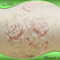 CD180701XuanMei European New Design Floral Wallpaper