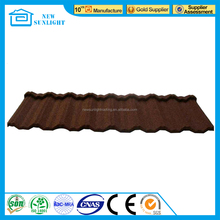 New Design Colorful Stone Coated Metal Roofing Tile with Factory Price