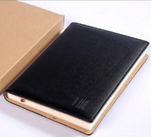 Fashional PU leather notebook with leather cover