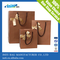 New Arrival Factory Price Fashion Art Paper Bag Printing