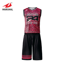 Sublimation cheap reversible basketball uniform custom basketball jersey design with your logo