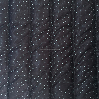 lace fabric,100% polyester embrodiery quilting fabric for down coat,jacket and garment